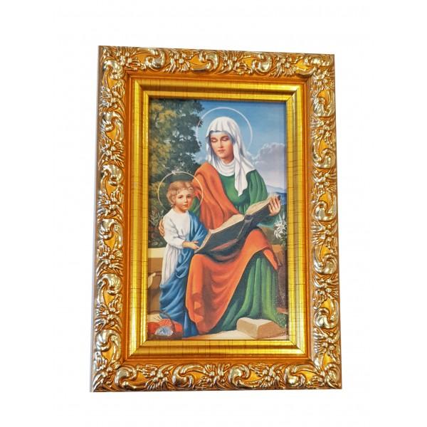 Svētbilde Svētā Anna 9 x 13 cm