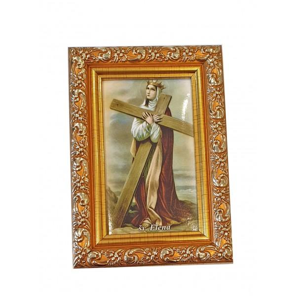 """Svētbilde  """"Svētā Helēna"""" 9 x 13 cm"""