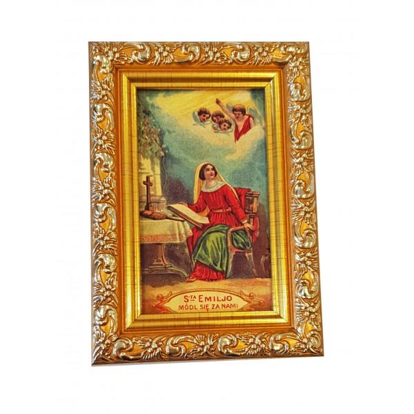 Svētbilde Svētā Emīlija  9 x 13 cm