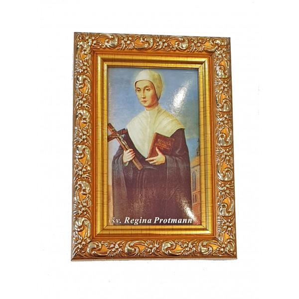 Svētbilde Svētā Regīna 9 x 13 cm