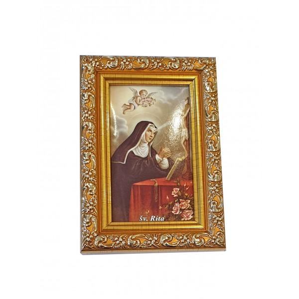 "Svētbilde  ""Svētā Rita"" 9 x 13 cm"