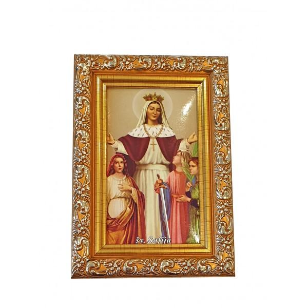 Svētbilde Svētā Sofija  9 x 13 cm