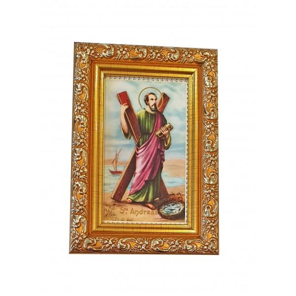 """Svētbilde  """"Svētais Andrejs"""" 9 x 13 cm"""