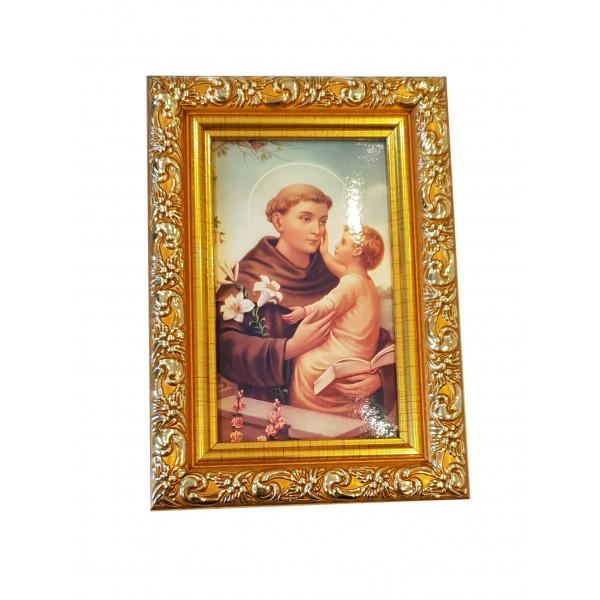 """Svētbilde  """"Svētais Antons"""" 9 x 13 cm"""