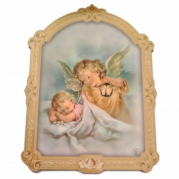 Sargeņģelis svētbilde uz plāksnes 17 x 23 cm