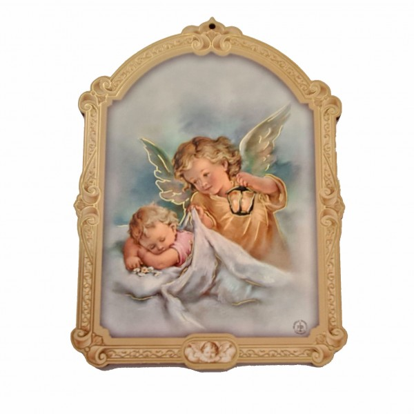 Sargeņģelis svētbilde uz plāksnes 10 x 14 cm