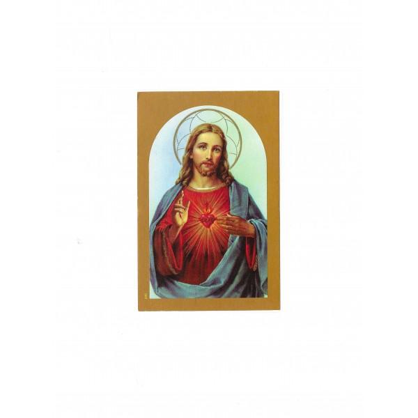 """Svētbildīte """"Vissvētākā Jēzus Sirds"""""""