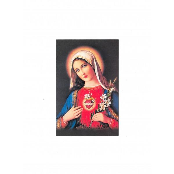 """Svētbildīte """"Vissvētākās Jaunavas Marijas sirds"""""""