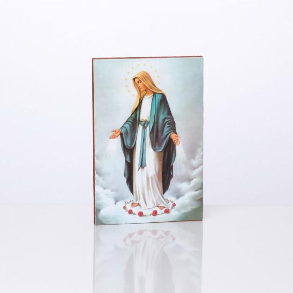 Svētbilde Brīnumaina Dievmāte 10 x 15 cm