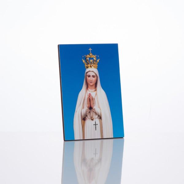 Svētbilde Fatimas Dievmāte 10 x 15 cm