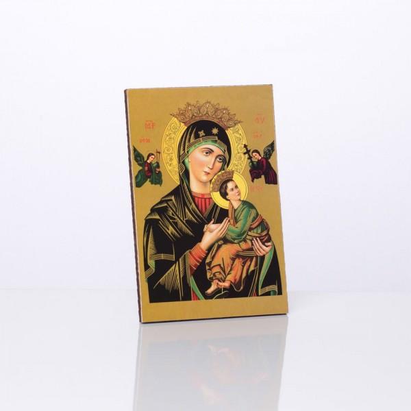 Nemitīgās Palīdzības Dievmātes svētbilde 10 x 15 cm