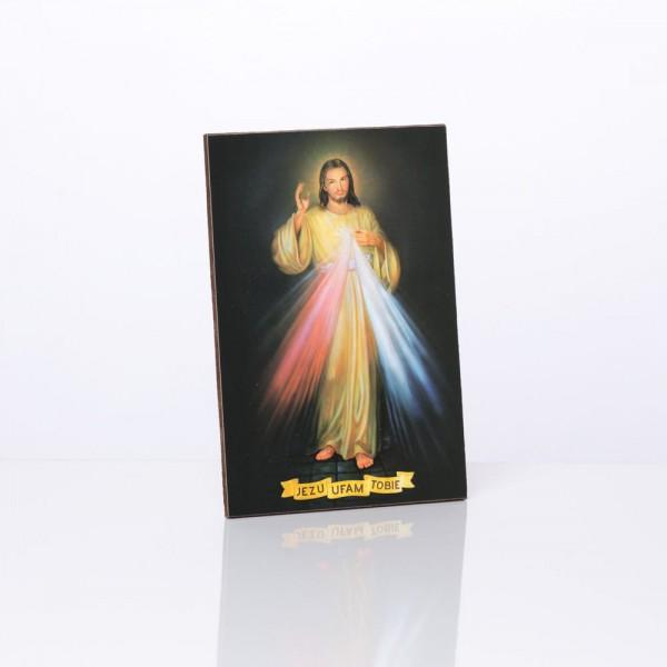 Svētbilde Žēlsirdīgais Jēzus 10 x 15 cm